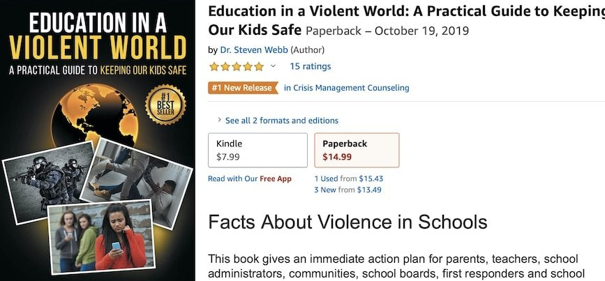 Education in a Violent World - Amazon Bestseller