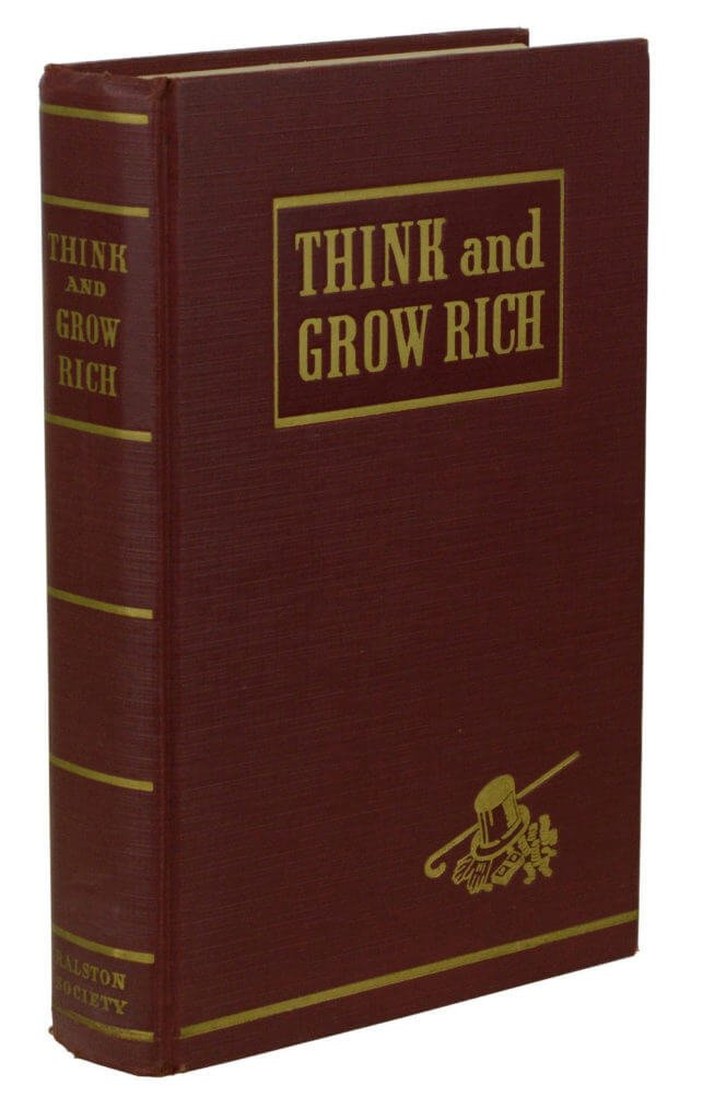 Public domain book - Think and Grow Rich by Napoleon Hill