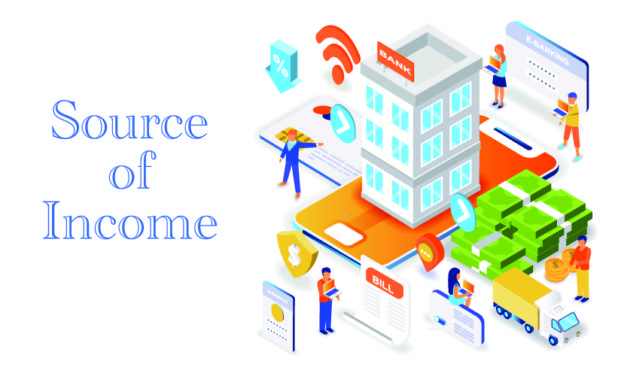 SOURCE OF INCOME, DO YOU HAVE JUST ONE?